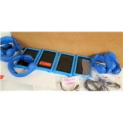 Qty 4 Tablets w/ Headphones
