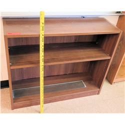 Wood 2 Tier Shelf Unit
