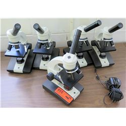 Qty 5 Ken-a-Vision Microscopes