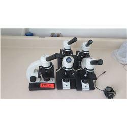 Qty 5 Ken-a-Vision Microscopes