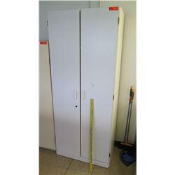 Tall 2 Door Cabinet w/ Shelves