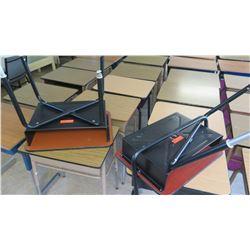 Qty 2 Wood & Metal Desks (One Broken)
