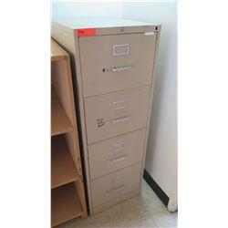 Vertical 4 Drawer File Cabinet