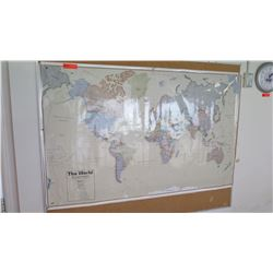 Paper World Map Poster