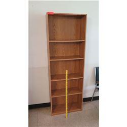 Wooden 5 Tier Shelf Unit