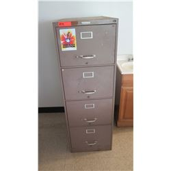 Vertical 4 Drawer File Cabinet Steelmaster