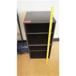 Short Black 4 Tier Shelf