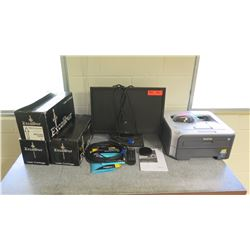 Brother Laser Printer, Excalibur Cartridges, Monitor