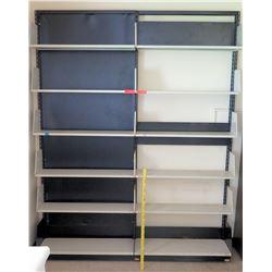 Wall Mount Metal Adjustable Shelves