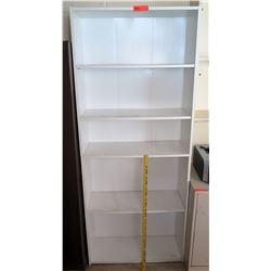White 5 Tier Shelf