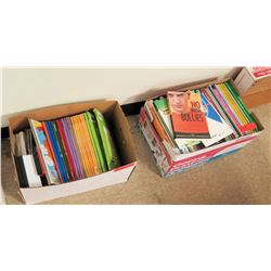 Qty 2 Boxes Reference Books