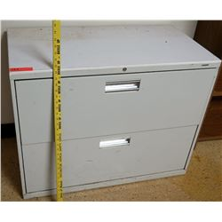 Lateral 2 Drawer Legal Filing Cabinet