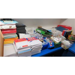Misc Paper, Binders, Supplies, etc