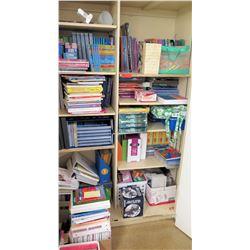 Contents of Shelf - Large Book Assortment