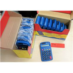 Qty 2 Boxes Primary Basic Calculators