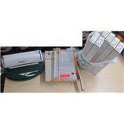 Rubi Coil Binding Machine, Paper Cutter, etc