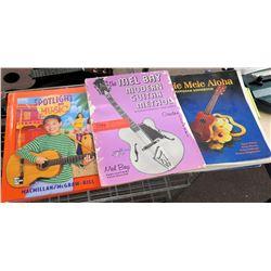 Hawaiian & Other Guitar Instruction Music Books