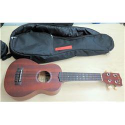 Makala 4 String Ukulele w/ Case