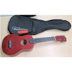 Hawaii 4 String Ukulele w/ Silvertone Case