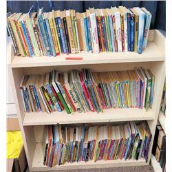 Misc Books on 3 Tier Shelf