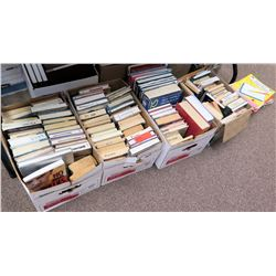 Qty 4 Boxes Reference Books