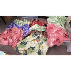 Different Hawaiian Print Skirts