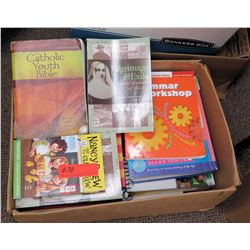 Box of Misc Books