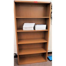 Wood 5 Tier Shelf Unit