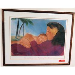 Framed Pegge Hopper Print