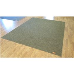 "Large Brown/Gray Rug (169"" x 132"") & Smaller Rug (120"" x 96"")"