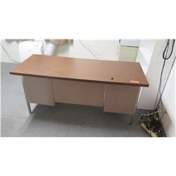Metal Desk w/ Drawers