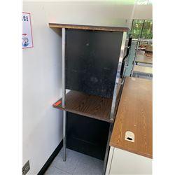 2 Desks w/ Metal Base & Drawers