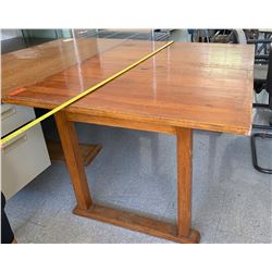 Square Wooden Table