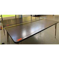 2 Utility Tables with Metal Legs