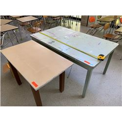 2 Utility Tables from Art Room