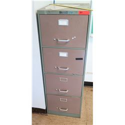 4-Drawer File Cabinet & 2-Drawer File Cabinet
