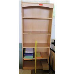 Wood 5 Tier Shelf Unit (Rm-402)