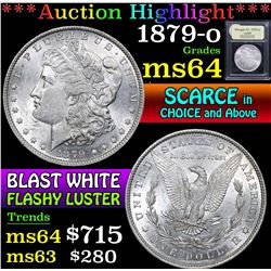 1879-o . . Morgan Dollar $1 Grades Choice Unc