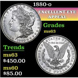 1880-o . . Morgan Dollar $1 Grades Select Unc