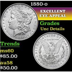 1880-o . . Morgan Dollar $1 Grades Unc Details