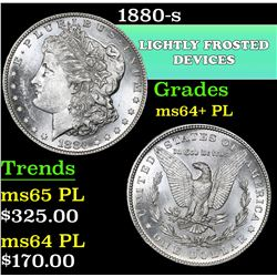 1880-s . . Morgan Dollar $1 Grades Choice Unc+ PL