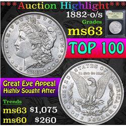 1882-o/s Top 100 . Morgan Dollar $1 Grades Select Unc