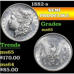 1882-s . . Morgan Dollar $1 Grades GEM Unc