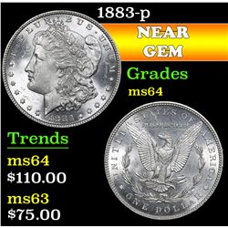 1883-p . . Morgan Dollar $1 Grades Choice Unc