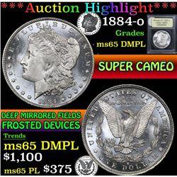1884-o . . Morgan Dollar $1 Grades GEM Unc DMPL