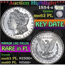 1884-s . . Morgan Dollar $1 Grades Select Unc PL