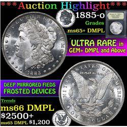 1885-o . . Morgan Dollar $1 Grades GEM+ DMPL