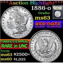 1886-o . . Morgan Dollar $1 Grades Select Unc