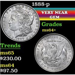 1888-p . . Morgan Dollar $1 Grades Choice+ Unc