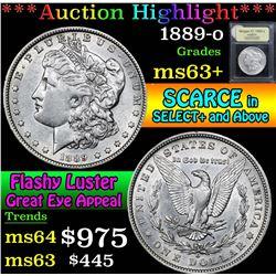 1889-o . . Morgan Dollar $1 Grades Select+ Unc
